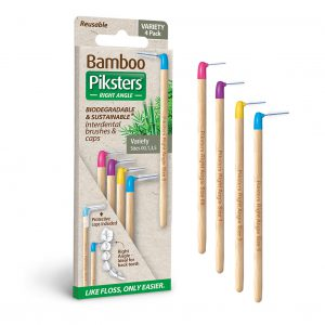 Bamboo Piksters Angled Variety 4 pack