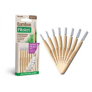 Bamboo Piksters 32 Pack Sizes 00-6