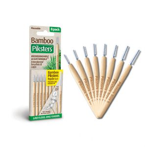 Bamboo Piksters 8 Pack Sizes 00-6