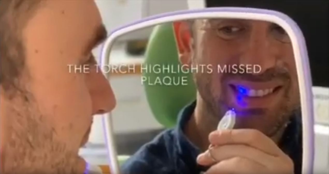Thanks Dr Trak for your 'glowing' dental review of Piksters Plaque Glo!