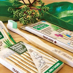 Piksters Bamboo Toothbrush and Interdental Brush Handles