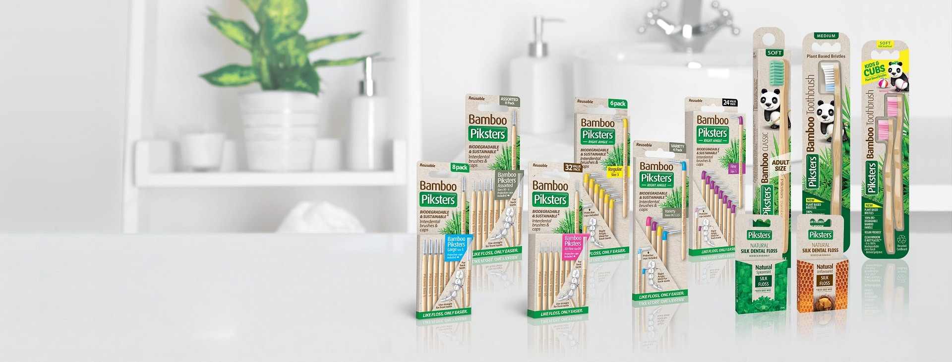 Piksters ECO Bamboo Products
